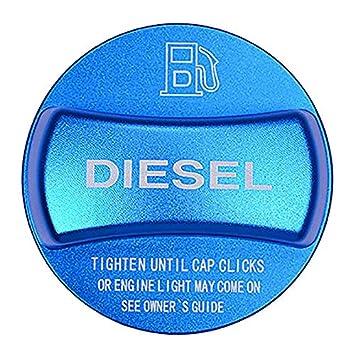 Essence Bleue TOOGOO Garniture de Couvercle de Bouchon de R/éservoir de Carburant en Alliage DAluminium pour BMW X1 X2 X3 X4 X5 X6 F10 F15 F16 F25 F26 F30 F34 F35 F48 F47 G30 G38