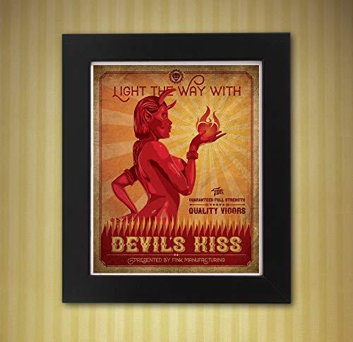 Bioshock Infinite Devils Kiss Vigor 8 x 10 print