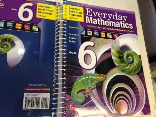 EVeryday Mathematics Grade 6 Teacher's Lesson Guide by Bell (2012-08-01)