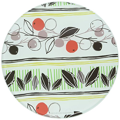 - Creative Home Tempered Glass Round Trivet, 8