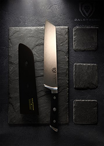 "DALSTRONG Chef Knife Kiritsuke - Gladiator Series - German HC Steel - 8.5"" - Sheath"