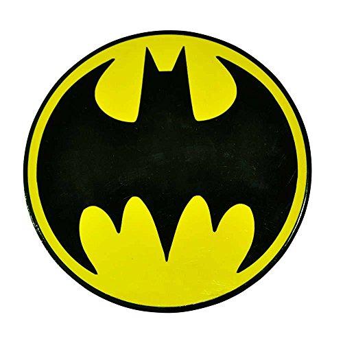 Descanso para Panela DC Comics Logo Batman Amarelo e Preto em Cerâmica - Urban - 20cm