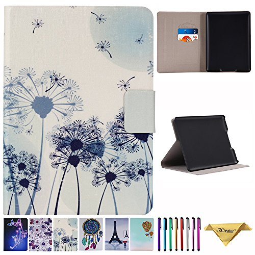 Amazon Kindle Paperwhite Case - JZCreater the Book Style PU Leather Cover Auto Sleep/Wake for All-New Amazon Kindle Paperwhite (Fits All versions: 2012 2013 2014 and 2015 New 300 PPI), Dandelion