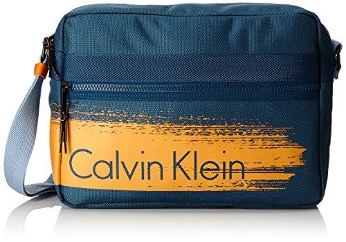 Calvin Klein Jeans K50K501093 - Bolso Bandolera de Sintético Hombre Azul (Ocean 405)
