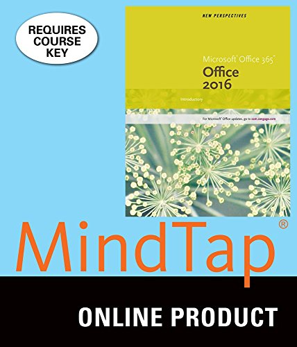 Mindtap Computing For Carey Desjardins Shaffer Shellman Vodniks New Perspectives Microsoft Office 365   Office 2016  Introductory  1St Edition