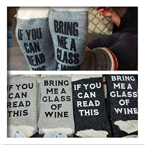 bring glass novelty socks women product image