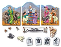 Carson Dellosa Christian The Ten Commandments Bulletin Board Set (210003)