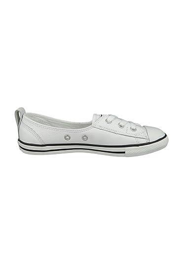 c2283ef13c7ba1 Converse Chucks All Star Dainty Ballerina 549617C Ballet Lace White Black  White