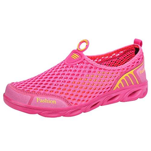 Water Women's Ultifree Shoes Slip On Rose Mesh Art Ux4wIqT