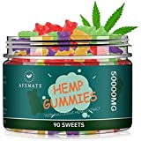 Hemp Gummies for Pain & Stress Relief - 100% Natural Hemp Oil Infused Gummies for Pain, Anxiety, Stress & Inflammation Relief