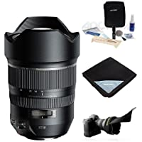 Tamron SP 15-30mm F/2.8 DI VC USD For Nikon DSLR Cameras - Bundle With Flex Lens Shade, Lens Wrap (19x19), Cleaning Kit