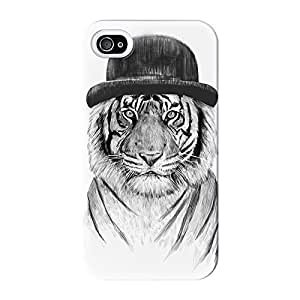Welcome To The Jungle Full Wrap High Quality 3D Printed Case for iPhone 4 / 4s by Balazs Solti + FREE Crystal Clear Screen Protector