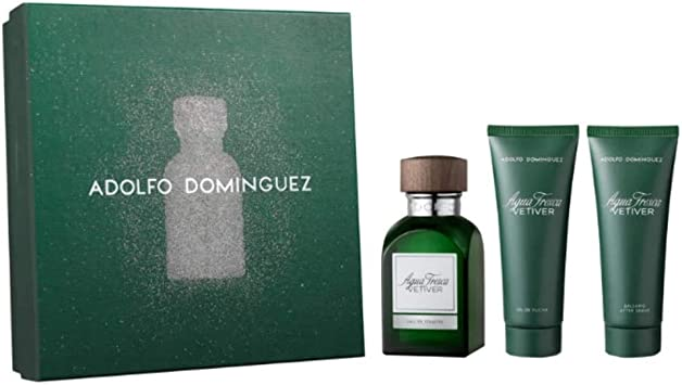Adolfo Dominguez - Agua Fresca Vetiver Estuche: Amazon.es: Belleza
