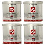 illy iperEspresso Capsules Medium Roasted Coffee, 5-Ounce, 21-Count Capsules (Pack of 4)