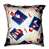 Cat in the Hat Pillow The Cat In The Hat Pillow Dr. Seuss Pillow HANDMADE in USA NEW Pillow New 2019 Design
