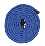 SoLed Garden Hose, 75Ft, Heavy Duty Expanding Water Coil Best Flexible Expandable Retractable Collapsible Shrinking Hoses Strongest Lightweight