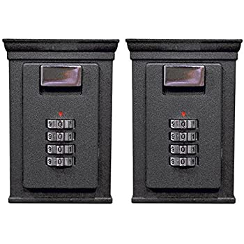 Secure-A-Key Base Brands-1 Select Access Key Storage Box with Set-Your-Own Combination Realtor Lock, Wall-Mounted, 6700 W, 2 Piece