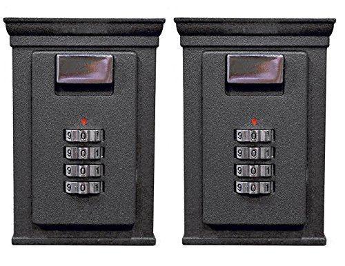 Secure-A-Key Base Brands-1 Select Access Key Storage Box with Set-Your-Own Combination Realtor Lock, Wall-Mounted, 6700 W, 2 Piece by Secure-A-Key