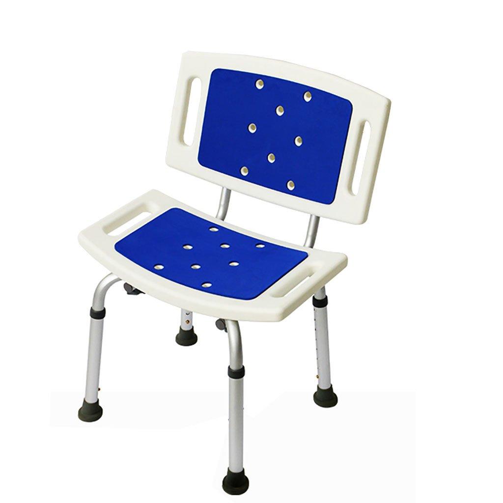 シャワー椅子バス椅子アルミ製のバススツール古い妊婦のシャワーチェアノンスリップ B07DFFCG4C