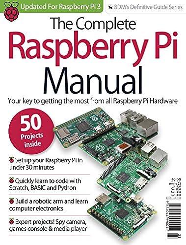 the complete raspberry pi manual updated 2016 magbook amazon co rh amazon co uk raspberry pi manual download raspberry pi manual ip address