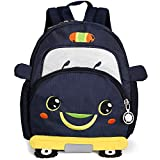 Cartoon Small Cars Infant Backpack Safety Harness Toddler Kindergarten Lunch Bag