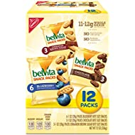 belVita Bites Variety Snack Packs - Mini Breakfast Biscuits, 12 Count Box, 12 Ounce