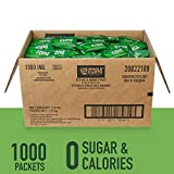 Whole Earth Sweetener Company Stevia & Monk Fruit Sweetener, Erythritol Sweetener, Sweet Leaf Stevia Packets, Sugar Substitute, Natural Sweetener, 1000-Count