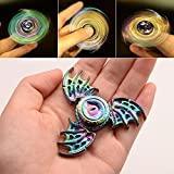 Wiitin Fidget Spinner Toy, Tri Hand Spinner Low Noise High Speed Focus Toy with Stainless Steel Bearing (Phoenix)