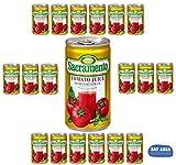 "Tomato Juice-18 Sacramento Brand 5.5oz. ""Cocktail Size Cans!""- includes Bay Area Marketplace tote bag!"