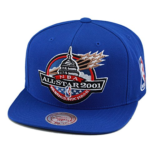 Mitchell & Ness NBA All Star Game Snapback Hat Cap 2001 Washington D.C. by Mitchell & Ness