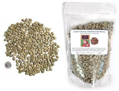 Sumatra Gayo Green Unroasted Coffee Beans from Sriwijaya Coffee