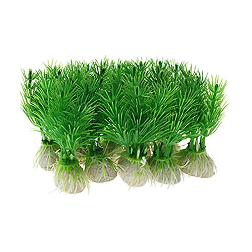 Uxcell 10 Piece Plastic Aquarium Decoration