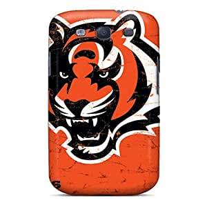 Shockproof Cell-phone Hard Covers For Samsung Galaxy S3 With Support Your Personal Customized Nice Cincinnati Bengals Image TimeaJoyce