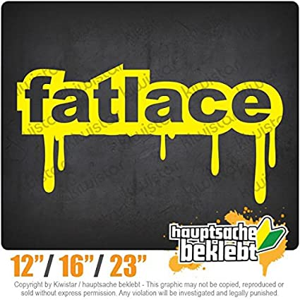 Amazon com: Fatlace - Available in 3 sizes 15 COLORS - Neon