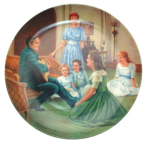 Knowles The Sound of Music Edelweiss collector plate - CP1798