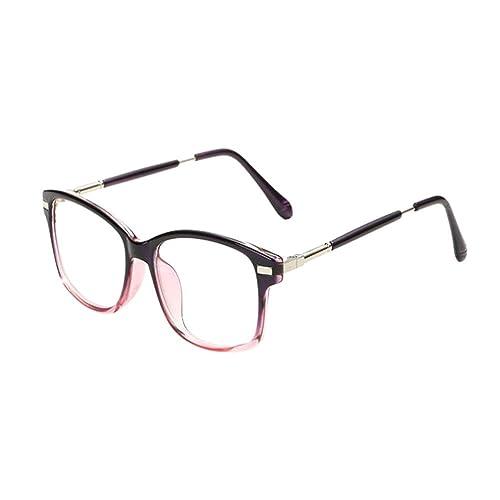 Hzjundasi Luz azul Filtrar Computadora Gafas Anti fatiga Moda Vintage Lente clara Gafas protectoras ...