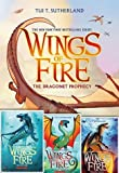 download ebook wings of fire #1-#4; the dragonet prophecy, the lost heir, the hidden kingdom, the dark secret pdf epub