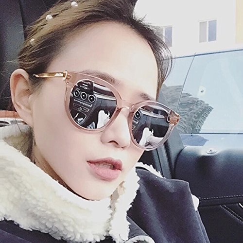64ac46c839 Sunglasses female s 2018 new style of Korean personality round faces ...