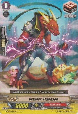 Cardfight!! Vanguard TCG - Brawler, Tokohson (BT16/108EN) - Booster Set 16: Legion of Dragons & Blades ver.E
