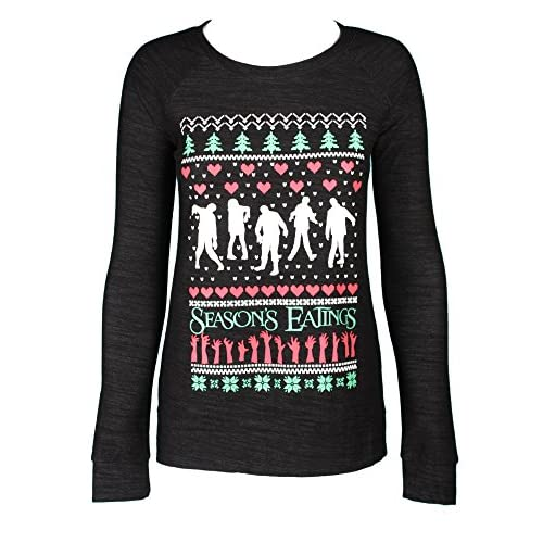 outlet Sidecca Women's Zombie Fair Isle Ugly Christmas Sweater ...