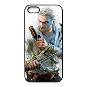 the witcher 3 wild hunt iPhone 5 5s Cell Phone Case Black 53Go-244585