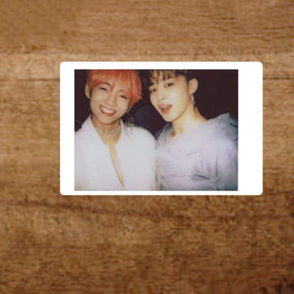 CAR-TOBBY 12pcs Kpop BTS Magazine Polaroid Lomo Cards Suga Jungkook V HD Photocard Poster