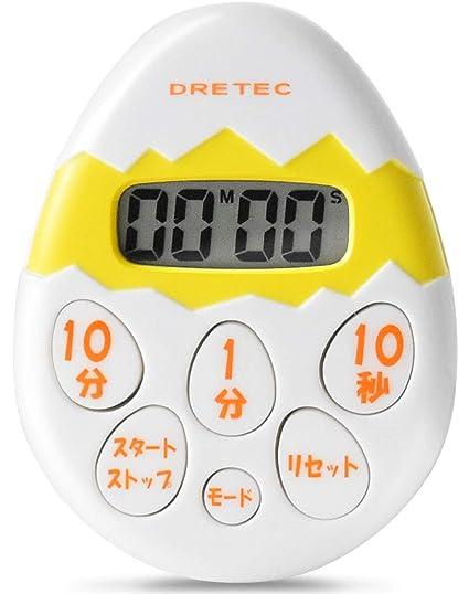 Reloj de arena DRETEC blanco T-171WT (jap?n importaci?n)