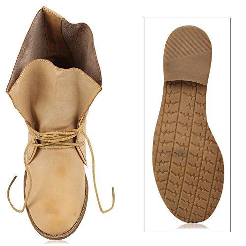 Stiefelparadies Marrone Stiefelparadies Stivali donna Stivali rzrxY