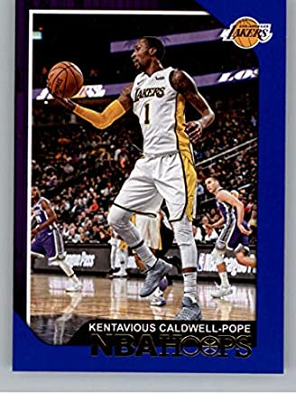 4270f3c5483 2018-19 NBA Hoops Blue  215 Kentavious Caldwell-Pope Los Angeles Lakers  Official