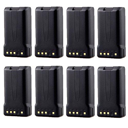 8 Pack 7.4V 2000mAh Ni-MH Portable Two-Way Radio Interphone Replacement Battery KNB-24 KNB-24L KNB-35 KNB-35L KNB-56 KNB-56L KNB-57 KNB-57L for Radios TK-2140 TK-3140 TK-2148 by TOPCHANCES