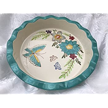 9\  Pie Pan (Turquoise ...  sc 1 st  Amazon.com & Amazon.com: Claddagh Pie Plate: Abbey Press: Home \u0026 Kitchen