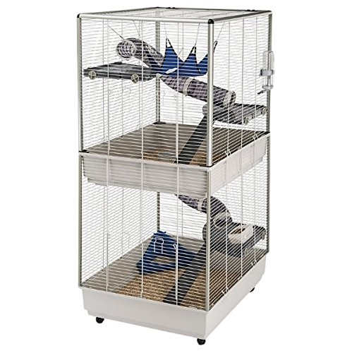 Tall Ferret and Rat Cage Elegant And Mobile Ferret Home With Over 2 Levels With Extensive Accessories Offers Your Pet The Perfect Hom