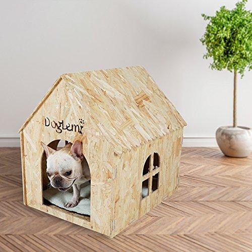 Cama para perro y gato Cueva Ecofriendly de 7 mm Tablero Ozon Cueva para mascotas de estilo europeo y americano Cueva para...
