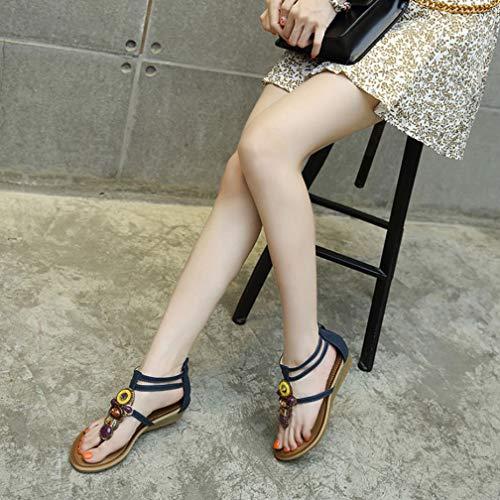 des Vente de et abricot pour national mode glisse étudiants décontractée plage style relief de femmes 38 chaussures la talons à compensées abricot en sandales anti TrHfxtnqT